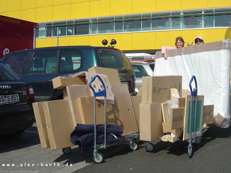 Dombas Kleiderschrank Ikea Bewertung ~ Bild 2 Und das alles in EIN Auto??